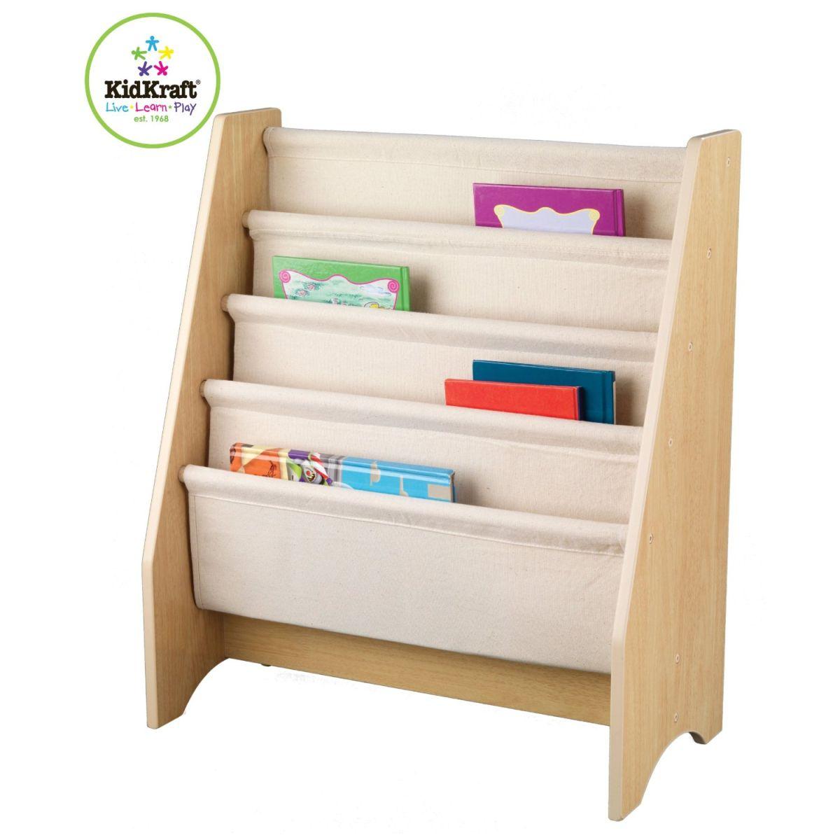KIDKRAFT - Bibliothèque pour enfant à compartiment Naturel - 14221